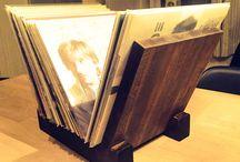 Holms snikkerier / Homemade wood/vinyl