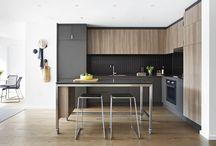 Albedor Modern Minimalist Style Kitchen Design / Albedor's door designs suited to the Minimalist style are... Ultra Finish in plain, matt, satin or gloss. Ultra Finish Nav Urban.Holly in plain, matt, satin or gloss. Finger pull rails. Tips for achieving the Minimalist style in your home: http://www.albedor.com.au/index.php/design/styles/modern-minimalist-style-kitchen-design
