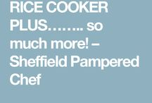 Pampered chef rice cooker recipes