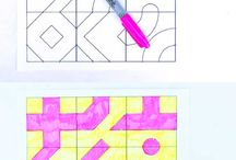 Math Art / Art projects and activities that incorporate math.