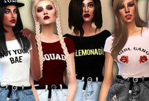 Sims 4 Tops