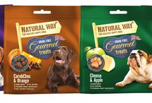 Natural Way dog treats / Yummy scrumptious treats from our Natural Way collection.  More information please visit: www.naturalpetproductsltd.com