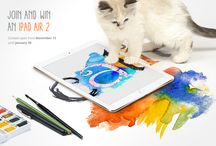 Catit Art Contest / Enter our new art contest and win a full set of new Catit products! Draw, paint or make a digital artwork of your cat - or use a combination of the three. More information on http://catit.com/en/arts-crafts.