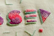 Embroidery love