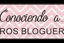Conociendo a otros blogueros