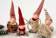 Handmade Xmas Ornaments