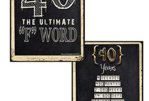 40th party ideas