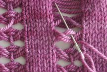 Interesting knitting stitches