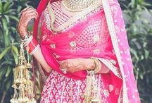 Bride of the Day / Indian Brides, Significant Colors, Heavy Jewellery