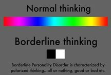 Borderline personality / Personality Disoder / by Anchor Counseling Center
