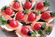 Canapés and finger food