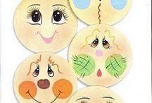 Carinhas de bonecas mg