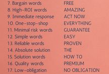 Copywriting Tips / Copywriting ideas, simple copywriting tips, copywriting inspiration, creative copywriting.