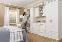 Wardrobe / Create spacious storage where none existed before with a custom wardrobe solution.
