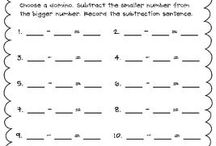 Math-modified / Activities and printables to use for students following a modified math program