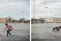 Themed shoot idea: Empty Parking Lot