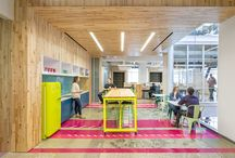 Cool workspaces / Stylish office spaces make creative working environments