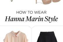Hanna Marin style
