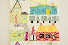 Quilting - house blocks