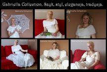Ślubne dodatki / Narzutki, szale, chusty, parasolki. Ręcznie robione. http://slubnedodatki-24.pl/