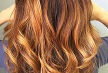 Brownish hair