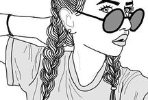 Tumblr drawings