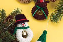 haken, crochet christmas