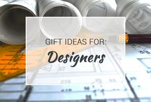 Gift Ideas for Designers / Design comes in all types of forms. But whatever type of designer you are (or know), you'll be able to find some great gift ideas on this board.