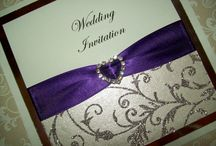 Wedding Invitations / Some of our latest designs of handcrafted and personalised wedding invitations
