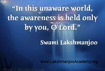 Awareness / From the oral Teachings of Swami Lakshmanjoo