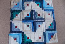 Quilts to love / Quick pieced Log Cabin/Four Patch quilts