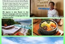 Authentic Korean Cuisine / Authentic Korean Cuisine and Korean English Translator in Badian Island Resort and Spa