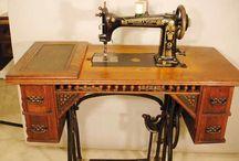 Vintage Sewing Machine XOXOXO
