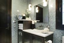 bathroom cabinet idea's / by Celeste Trudeau