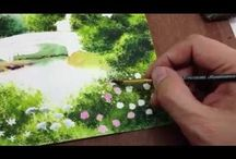 Watercolour Tutorials View/Perspective