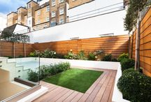 Bayswater by Really Nice Gardens / We designed this secluded Bayswater back garden to have a sleek and contemporary feel and lots of space for entertaining