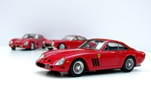 Handbuilt Ferrari models / some of my handbuilt Ferrari models