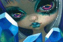 Big Eyed Art by Jasmine & Margaret