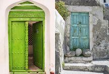 Puertas / Colores vivos