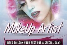 Flyer make up