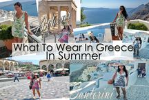 summer style in Greece / summer style in Greece