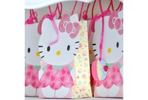 Pilar's 4th Birthday- Hello Kitty! / by Bendi Baby Yoga Mats