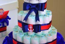 chá de bebê marinheiro
