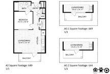 One Bedroom Apartment In Houston, TX / Floorplan