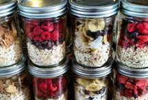 No cook oatmeal / Oatmeal in jars