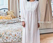 Fall 2017 Nighties, Dressing Gowns, and Pajamas