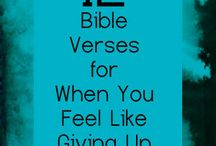 Bible Verses / by Sara Sparks