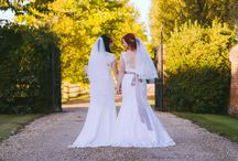 Two Brides / Our first same sex marriage at Lillibrooke. We hope to have many more in the years to come.