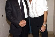 SYLVESTER STALLONE AND ROD STEWART