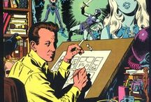 Art of Wally Wood / Marvel comic artist and semi risqué illustrator Wally Wood.  Amazing Pre and post code comic book artist.